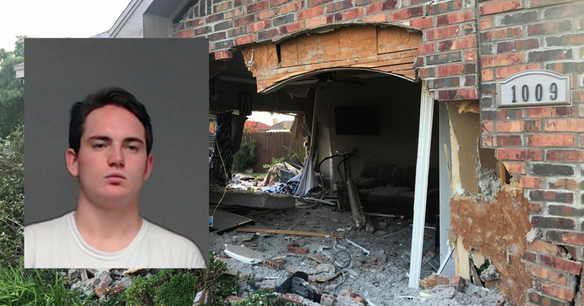 Local Teen Arrested After Crashing Pickup Through House
