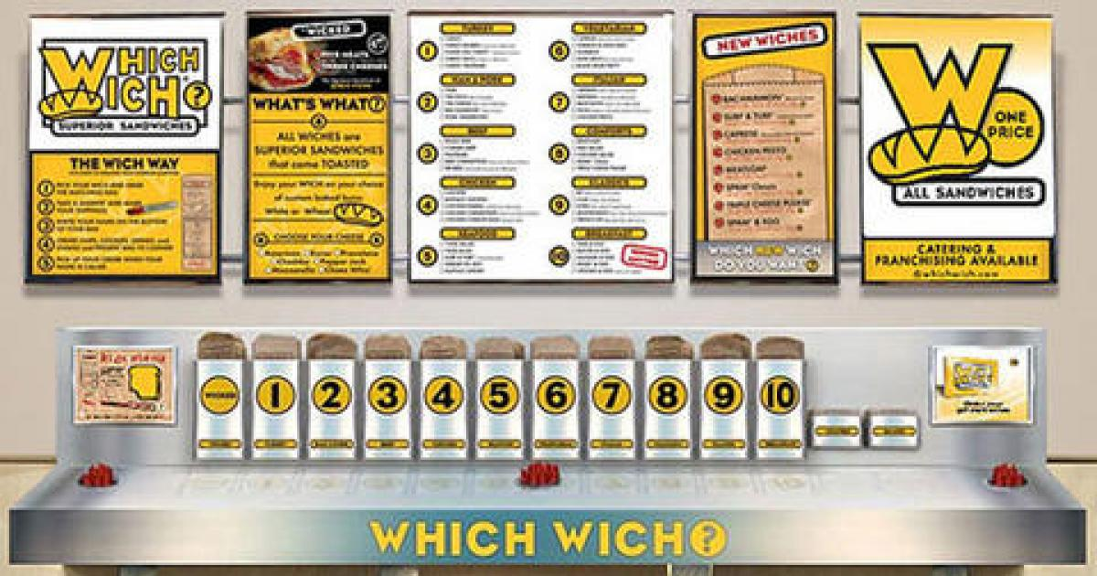 Which Wich order picture
