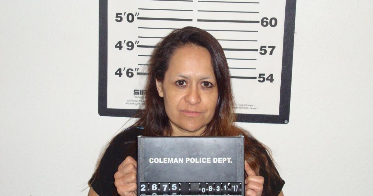 Rhonda Kay Rosales, 45. (Runnels Co. Jail)