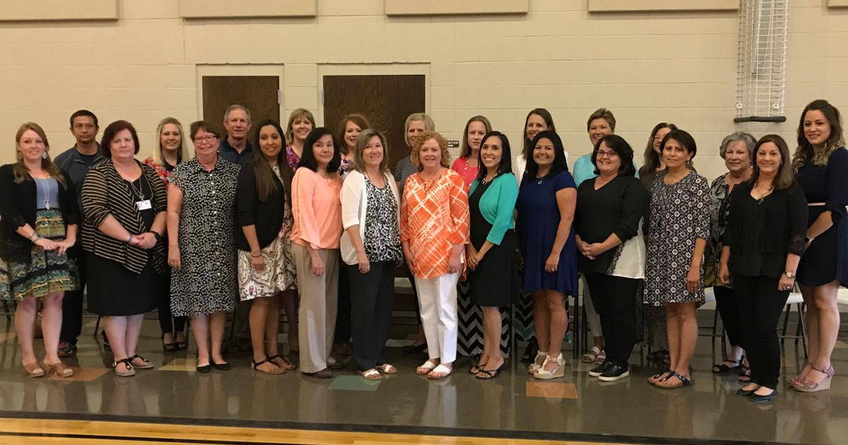 On April 27, 2017, the San Angelo ISD recognized 25 teachers from each campus. Two were selected as district-wide teachers of the year. (LIVE! Photo/Cuatro Jones)