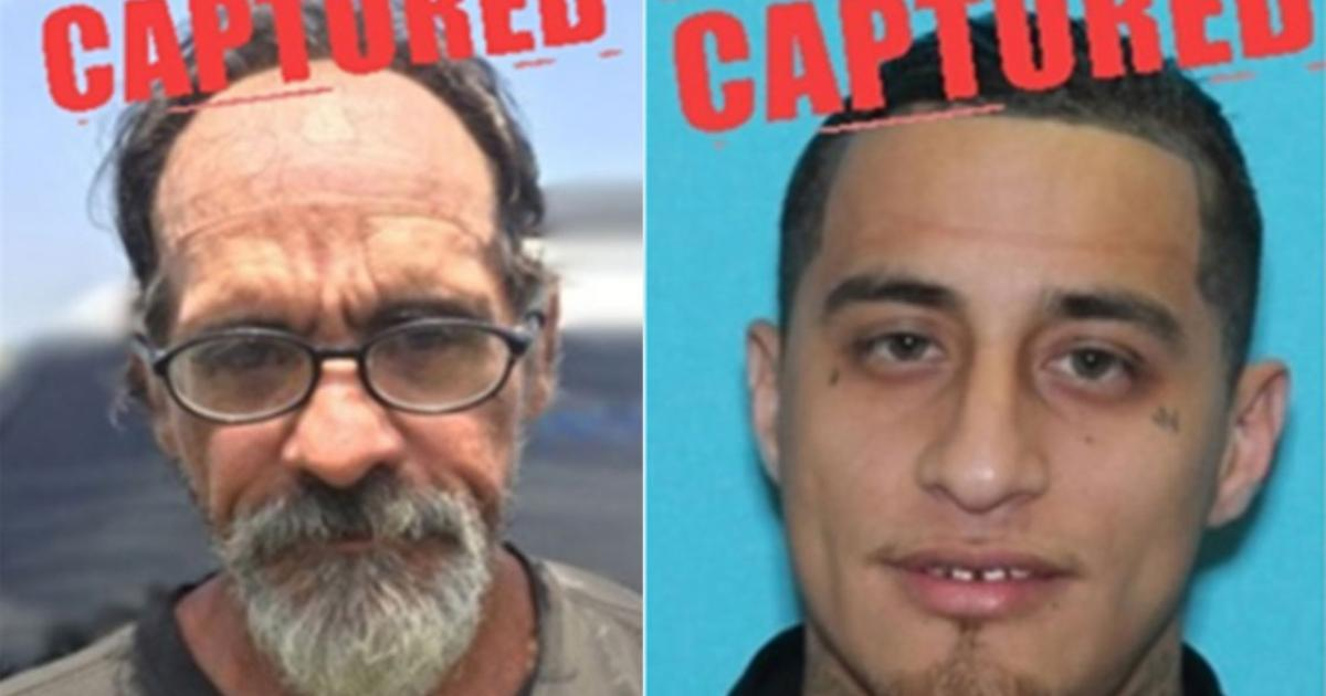 Two Texas 10 Most Wanted Fugitives Captured