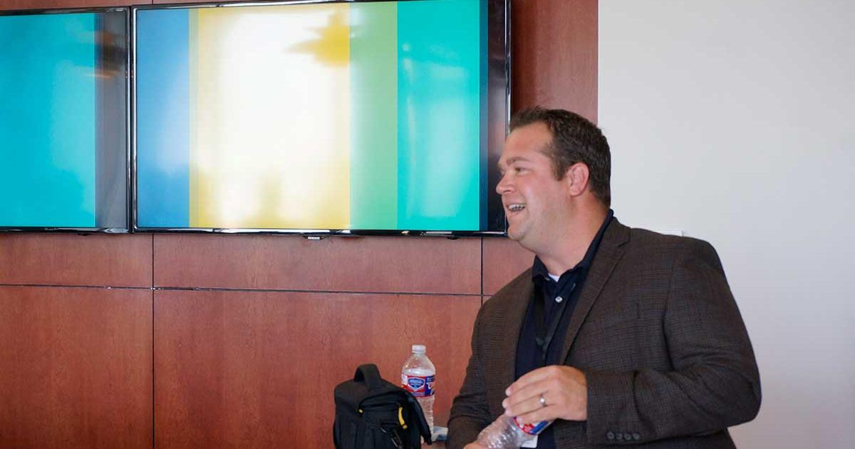 Jordy Moorman, President of DMI. (LIVE! Photo/Joe Hyde)