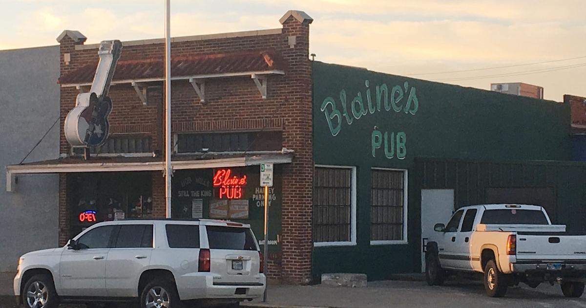 Blaine's Pub, 10 W Harris Ave in San Angelo, TX. (LIVE! Photo/Joe Hyde)