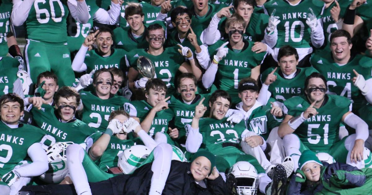 The 2016 Wall Hawks Varsity Football Team. (Contributed/Rodney Fleming)