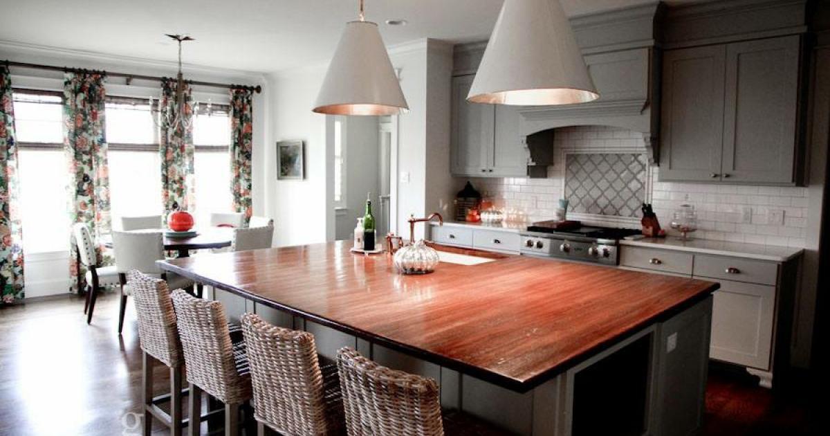 An alternative style of kitchen created by von Rosenberg. (McLaughlin Advertising)