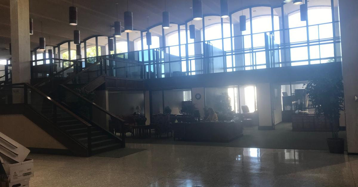 Inside the City Hall Annex on W. Beauregard Ave. (LIVE! Photo/Brandy Petty)