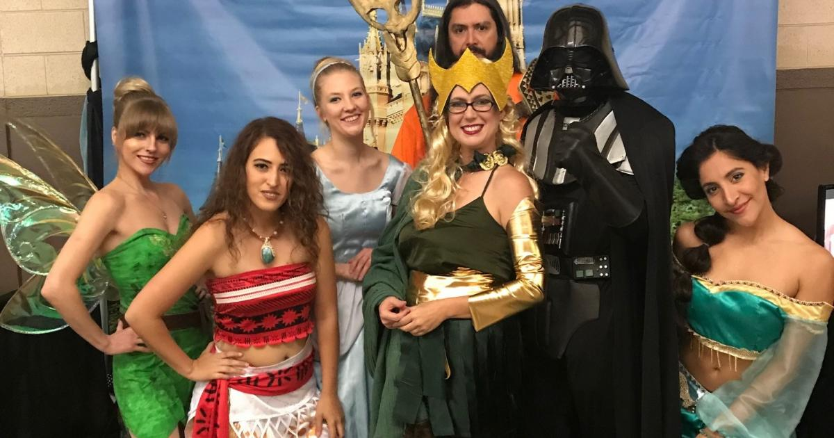 At San Angelo Comic Con with One Perfect Party.