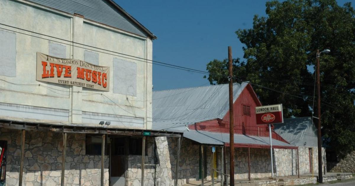 London Hall in London, TX (Contributed/Junction Texas Tourism)
