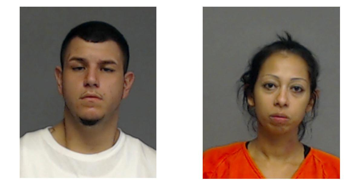 Fernando Ramirez, 26 (left) and Crystal Munoz, 32. Both are in jail following a high speed chase through San Angelo on Aug. 19, 2017. (TGCJ)