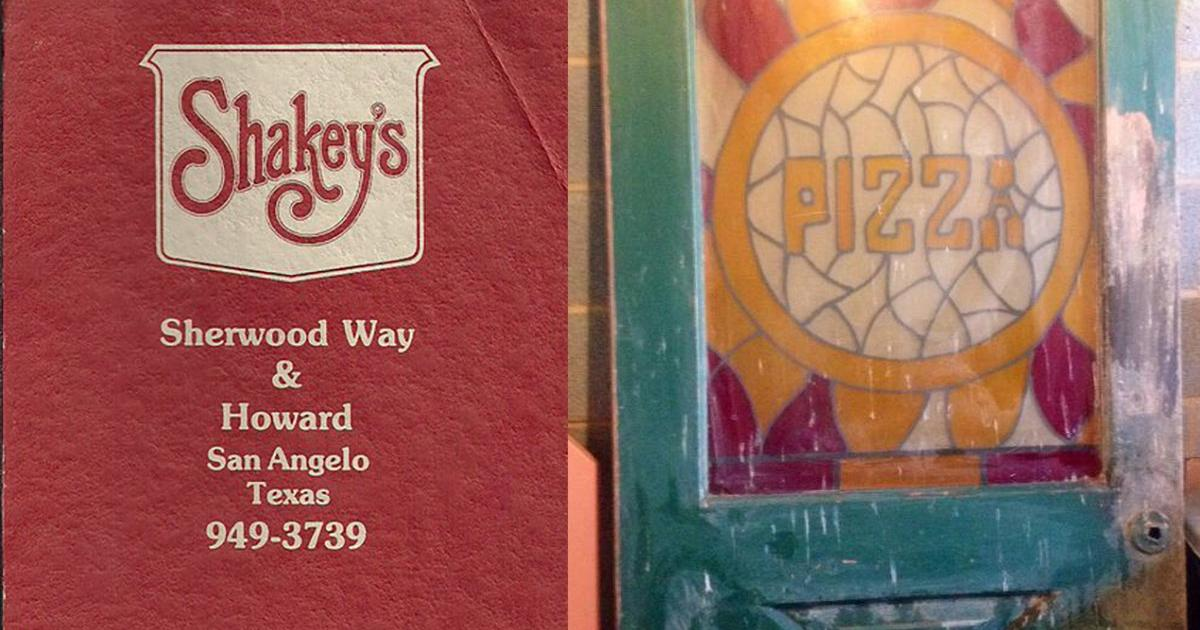 The door from the Shakey's Pizza as sold last year on San Angelo Swap and Sell by Amy Kernion. (Contributed, Facebook)