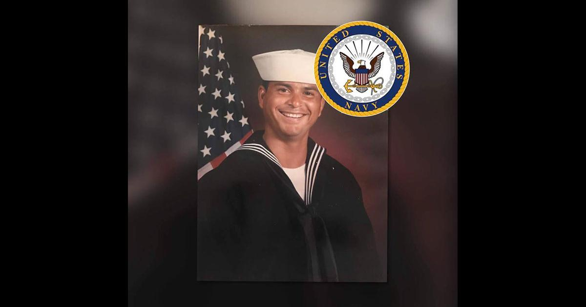 Edward Vigil enlisted in the U.S. Navy and served in Desert Storm, according to at member of his family, Moses Duarte. (Contributed via Facebook)