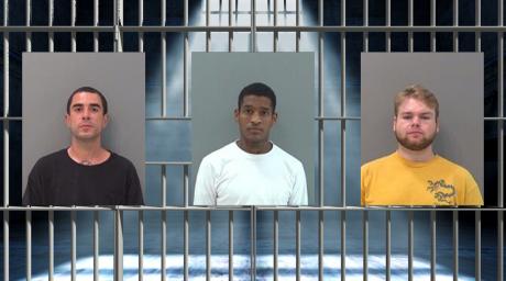 Tommy Rodriguez (left) Robert Williams (middle) Seth Jones (right). (TGCJ)