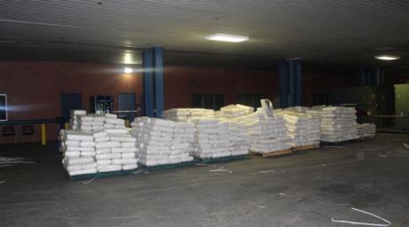 13,744 pounds of alleged marijuana hidden inside of commodes