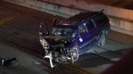 Baby Injured in I-10 Crash (Contributed / KABB)