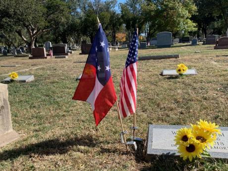 Veteran's Day at the Fairmount Cemetery