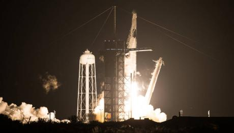 SpaceX Crew Dragon Launch Nov. 2020 (Contributed/Noel Kowsky)