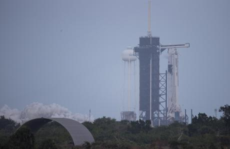 SpaceX Falcon 9 (Contributed/NASA Joel Kowsky)