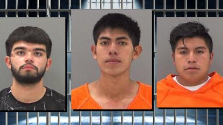 Anthony Ramirez (L) Luis Sucup-Hernandez (M) Erick Fernandez-Gonsalez (R)