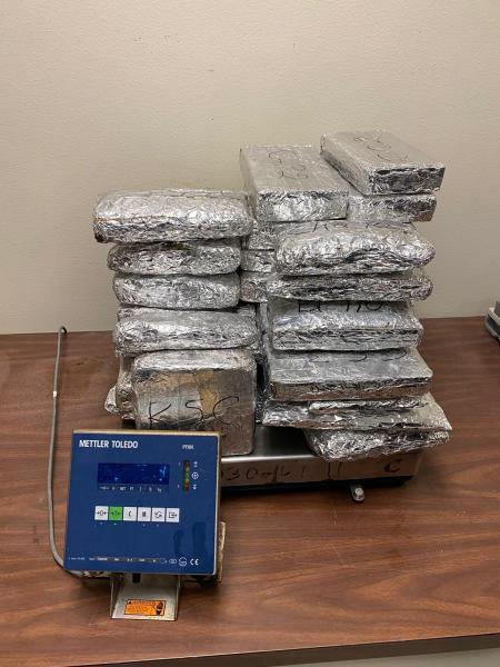 Mixed Narcotics Seized by Border Patrol (Contributed CBP Hidalgo)