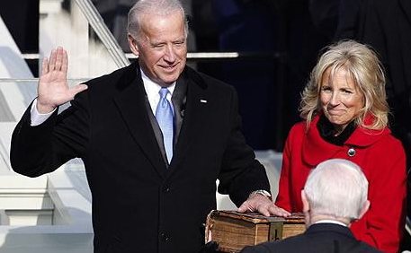Joe Biden Sworn In
