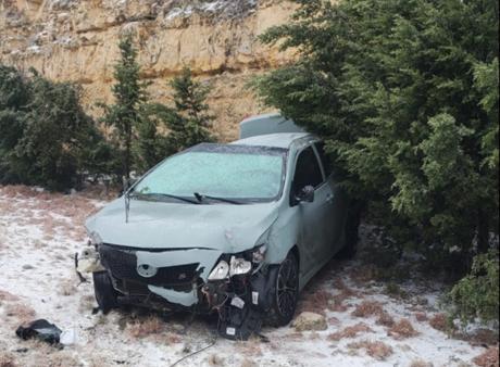 Rollover Crash in Sutton County