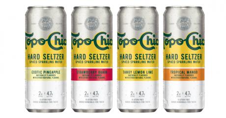 Topo Chico Hard Seltzers