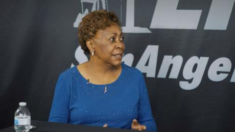 San Angelo City Councilwoman Billie DeWitt during an interview with San Angelo LIVE! on April 17, 2021