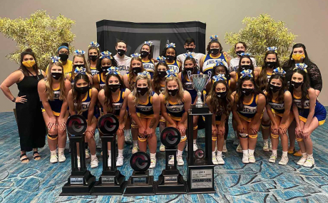 Angelo State Cheer Wins National Championship