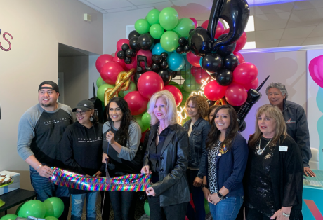 Vivid Pop Events Ribbon Cutting
