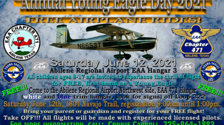 Annual Young Eagle Day is this Weekend