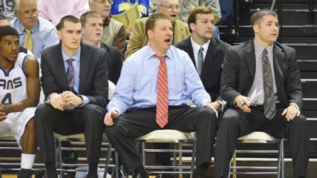 Basketball Coach Chris Beard (LIVE! Archive Photo)