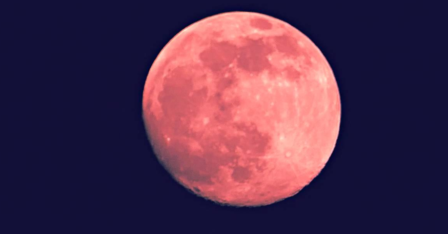 See The Strawberry Full Moon Tonight