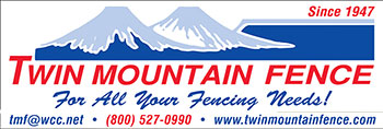 Twin Mountain Fence