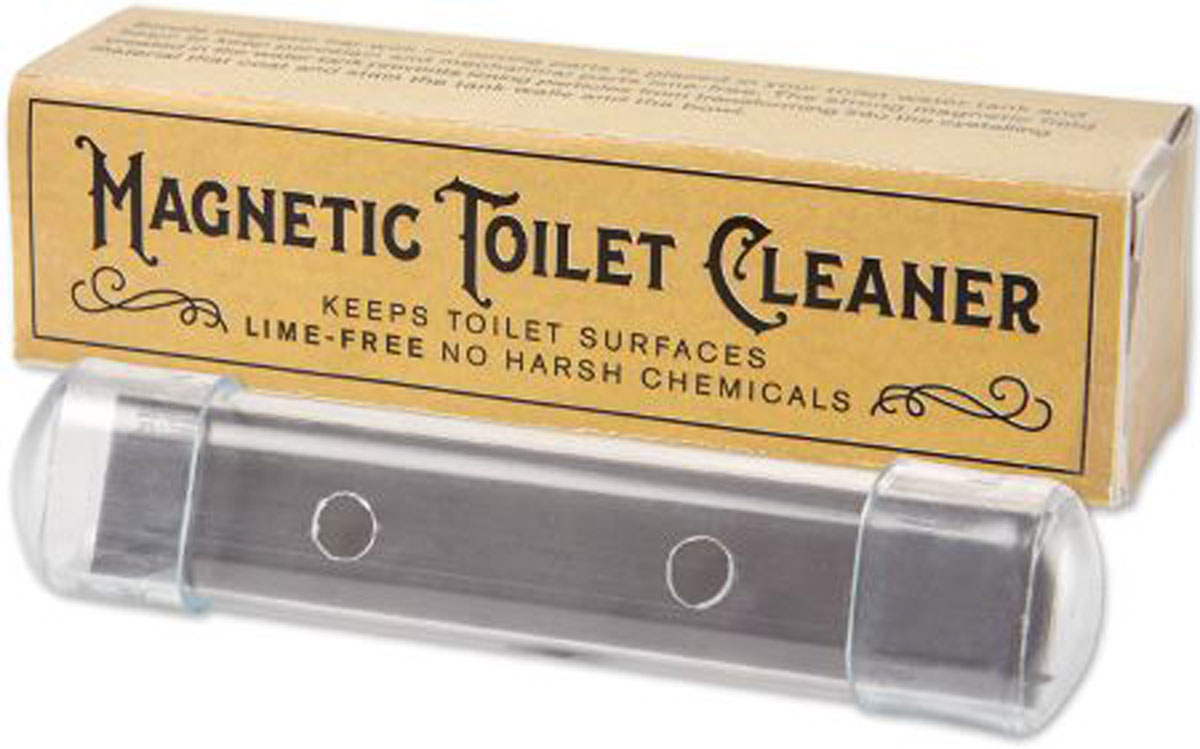 Magnetic Toilet Cleaner.