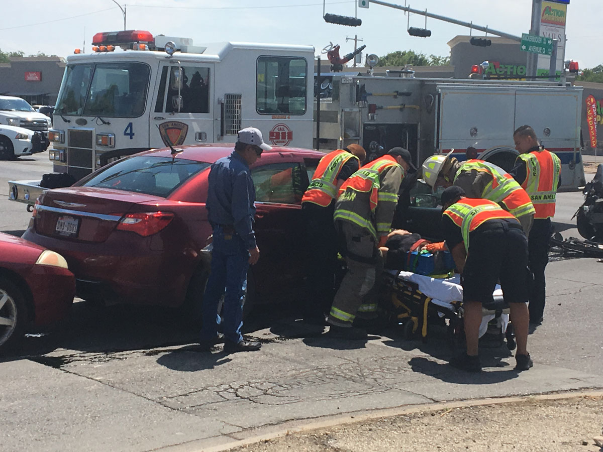 One passenger was injured and rushed to the hospital. (LIVE! Photo/Cameron Niblock)