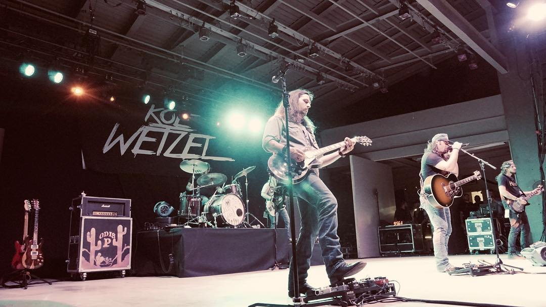 Koe Wetzel at San Angelo's RiverStage on May 3, 2019. (LIVE! Photo/Manny Diaz)