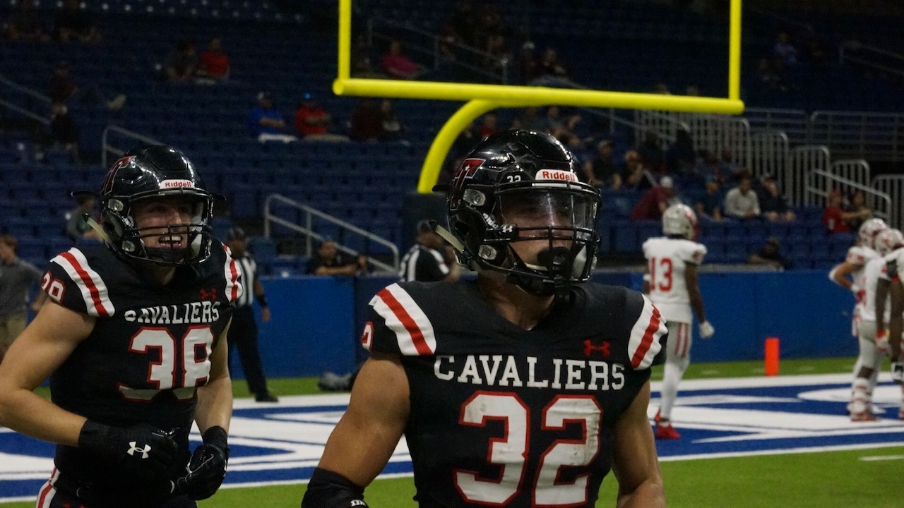 The second half was all Weston Stephens.  He had 190 yards on 20 carries in the two quarters (LIVE! Photo/Joe Z Hyde)