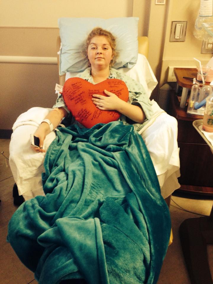 Keelie Brydson After Thymectomy Procedure