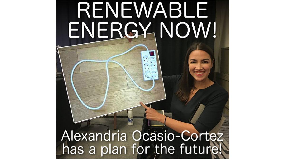 Alexandria Ocasio-Cortez, Democratic representative for NY-14.