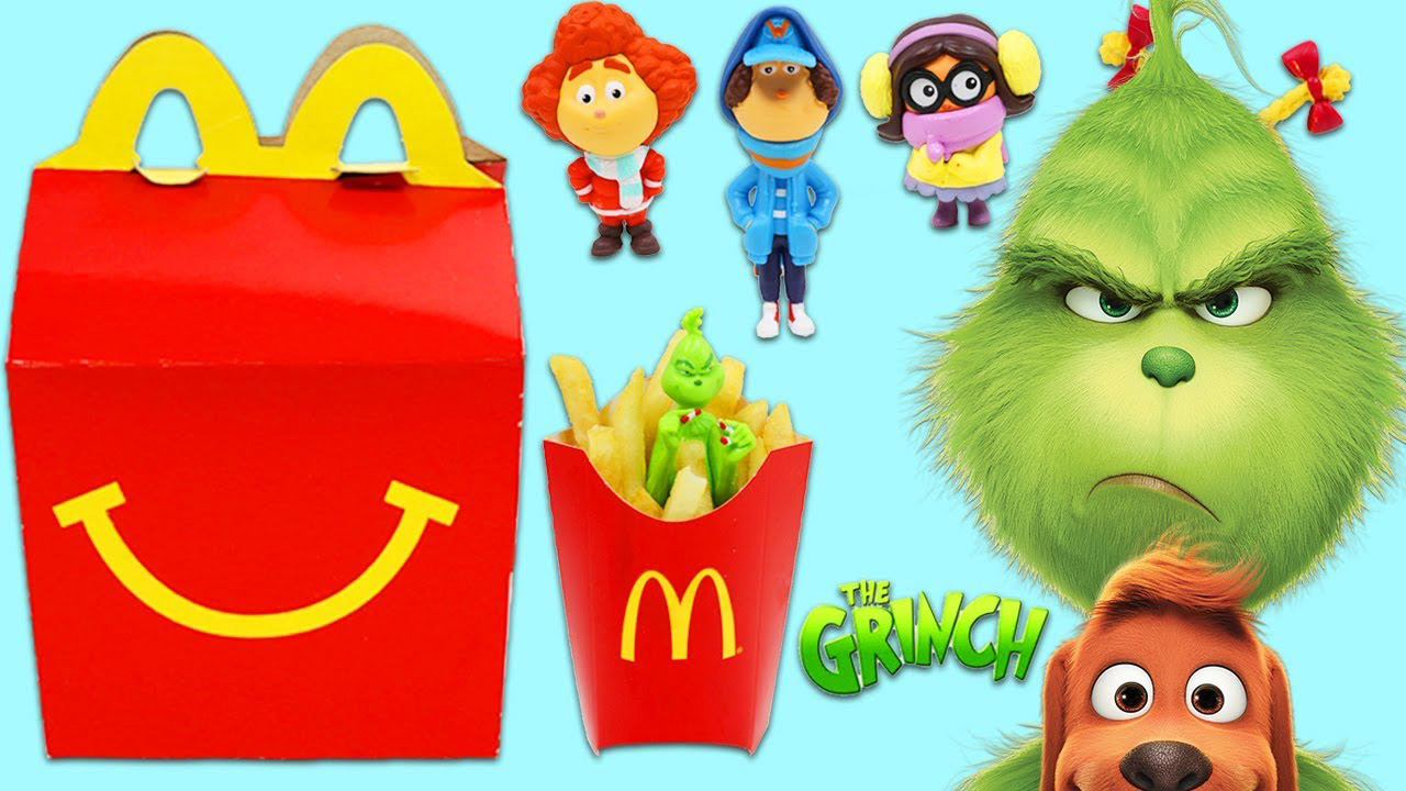 The Grinch who stole your Happy Meal.