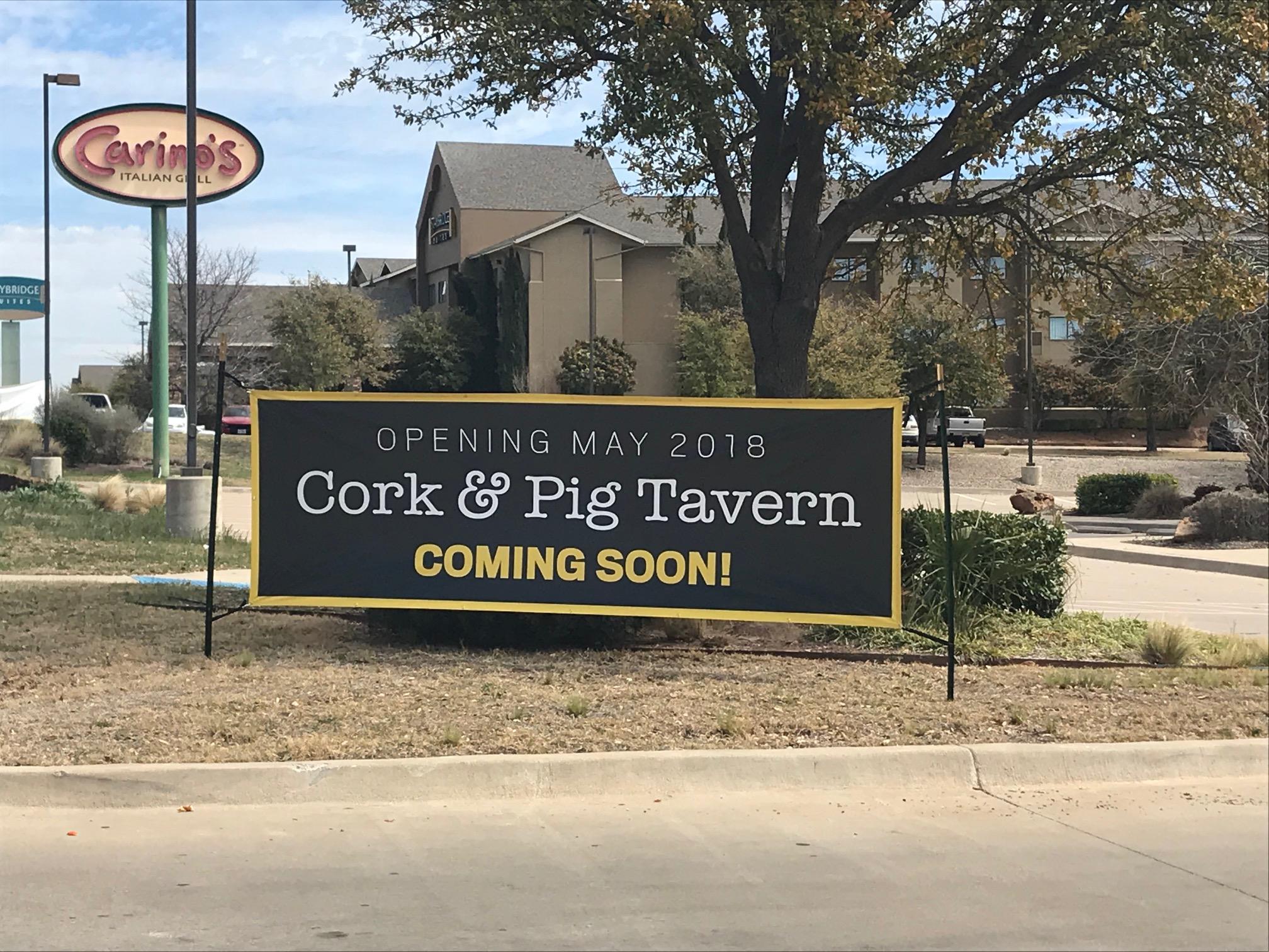 Cork ang Pig Coming Soon
