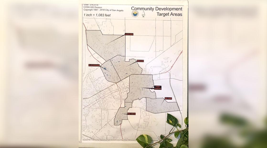 Community Development Target Areas
