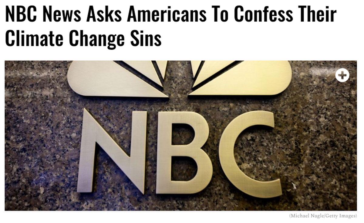 NBC demands we confess!
