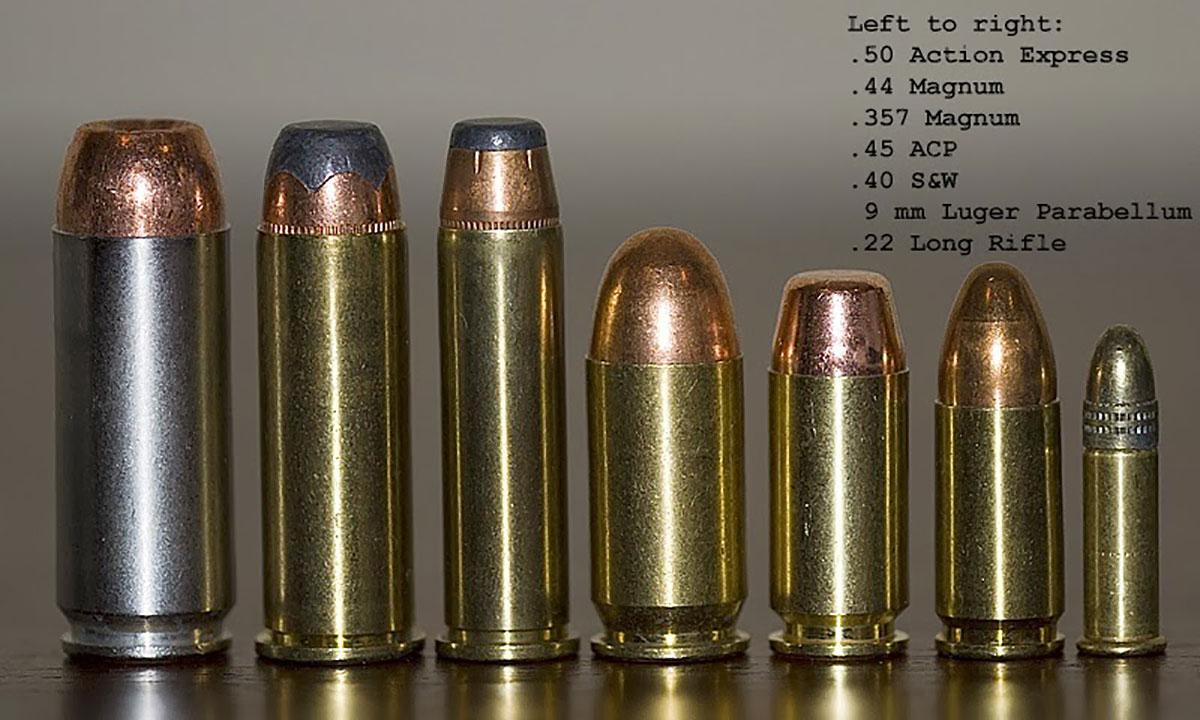 Pistol ammo (Contributed/Kendal Hemphill)