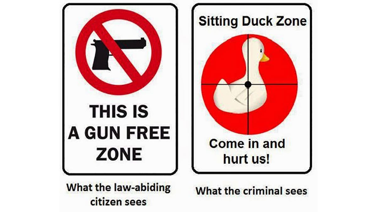 Gun Free Zones, or Sitting Duck Zones?