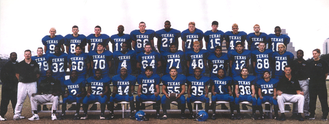 The Texas School for the Deaf football team (Photo Courtesy of Cody Broadway)